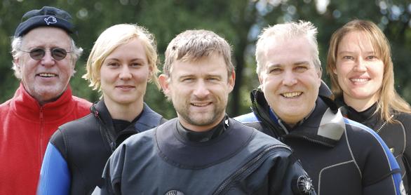 Dive'n-Team - Taucher für Ausbildung, Kauf und Club